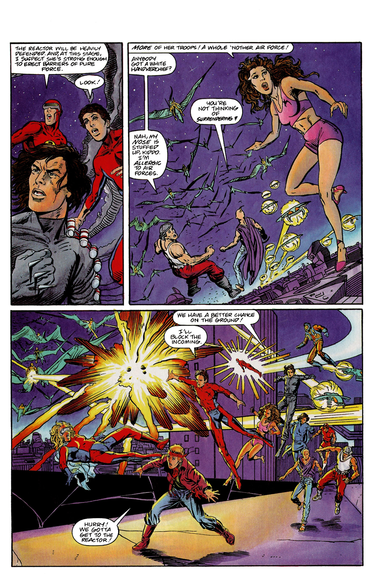 Read online Harbinger (1992) comic -  Issue #9 - 18
