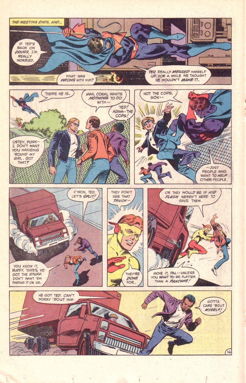 Read online The New Teen Titans (Drug Awareness Specials) comic -  Issue #1 - 18
