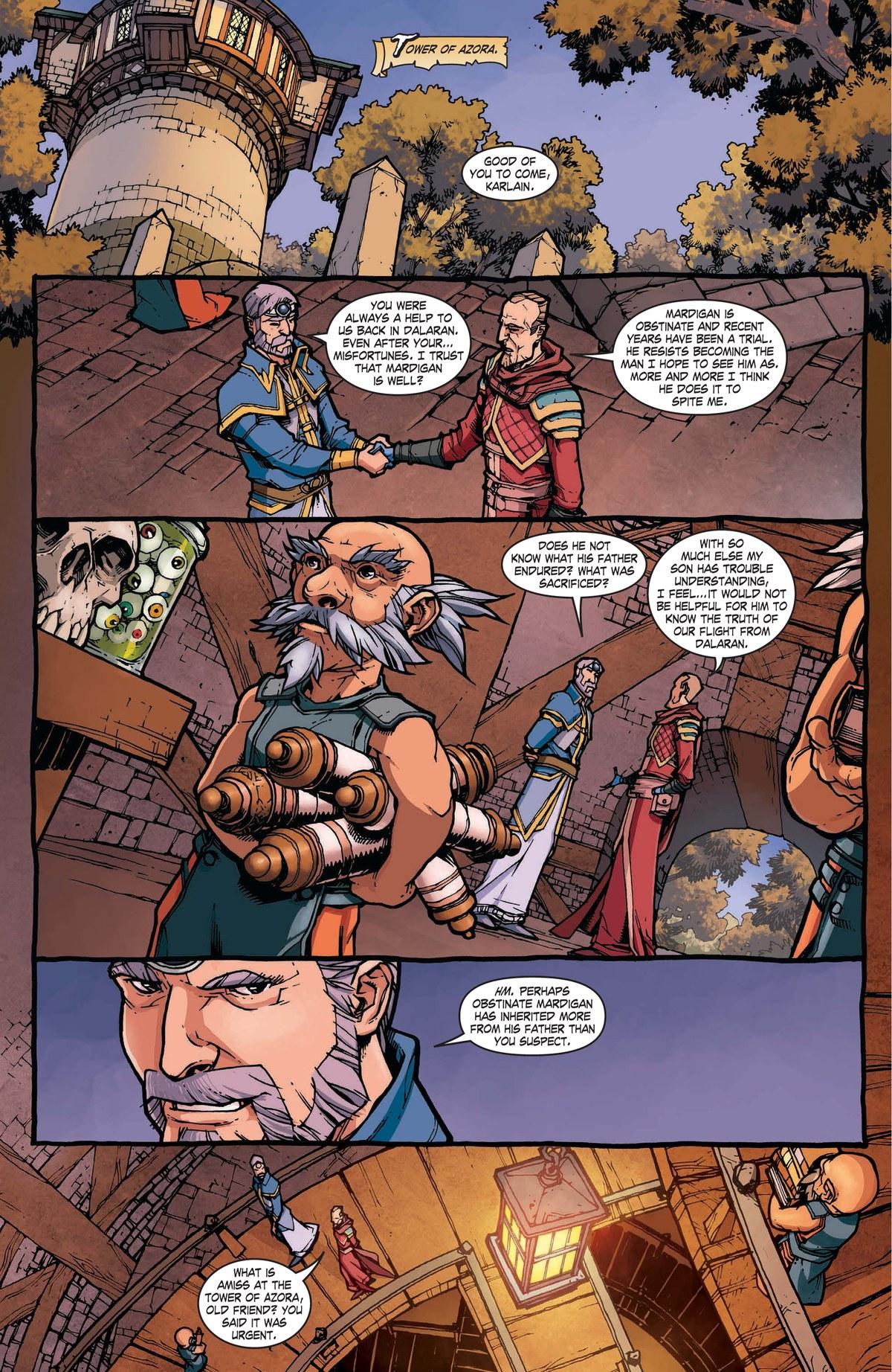 Read online World of Warcraft: Dark Riders comic -  Issue # Full - 16