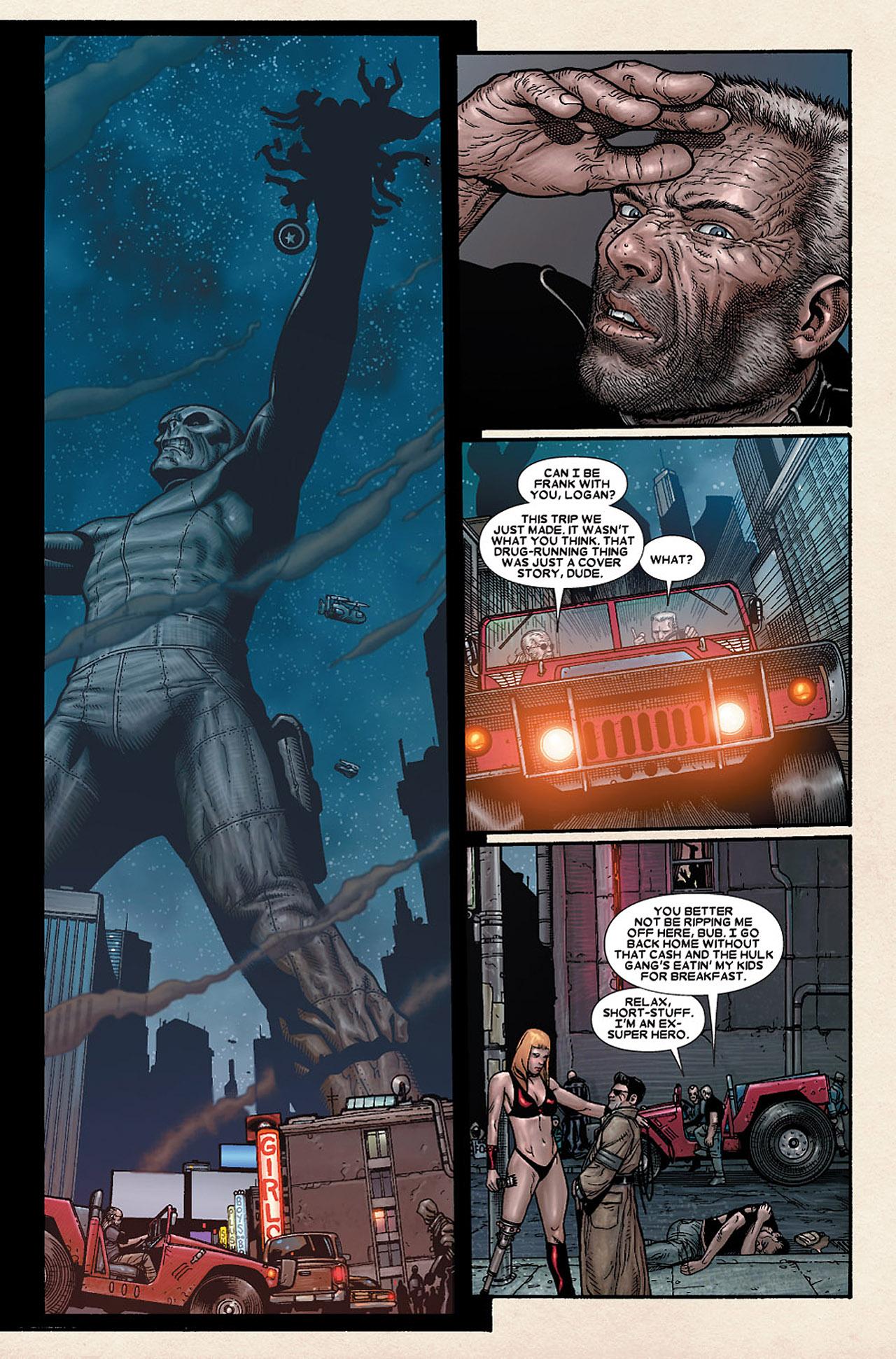 Read online Wolverine: Old Man Logan comic -  Issue # Full - 130