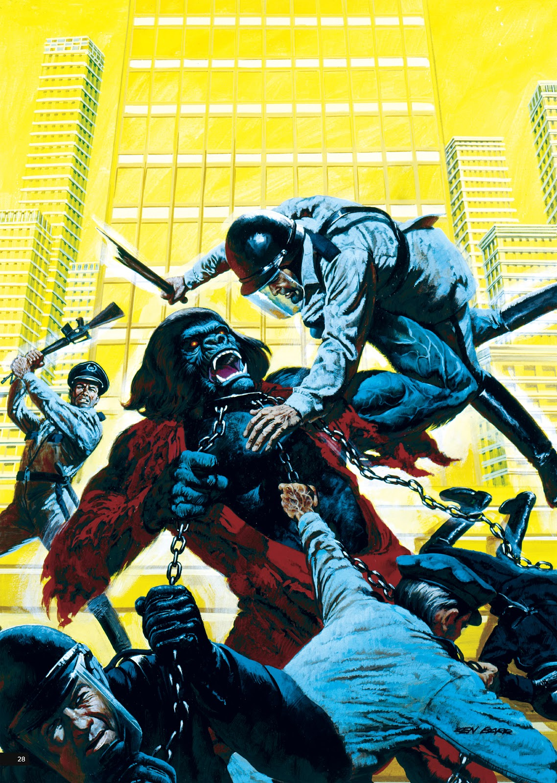 Read online Planet of the Apes Artist Tribute comic -  Issue # TPB - 28
