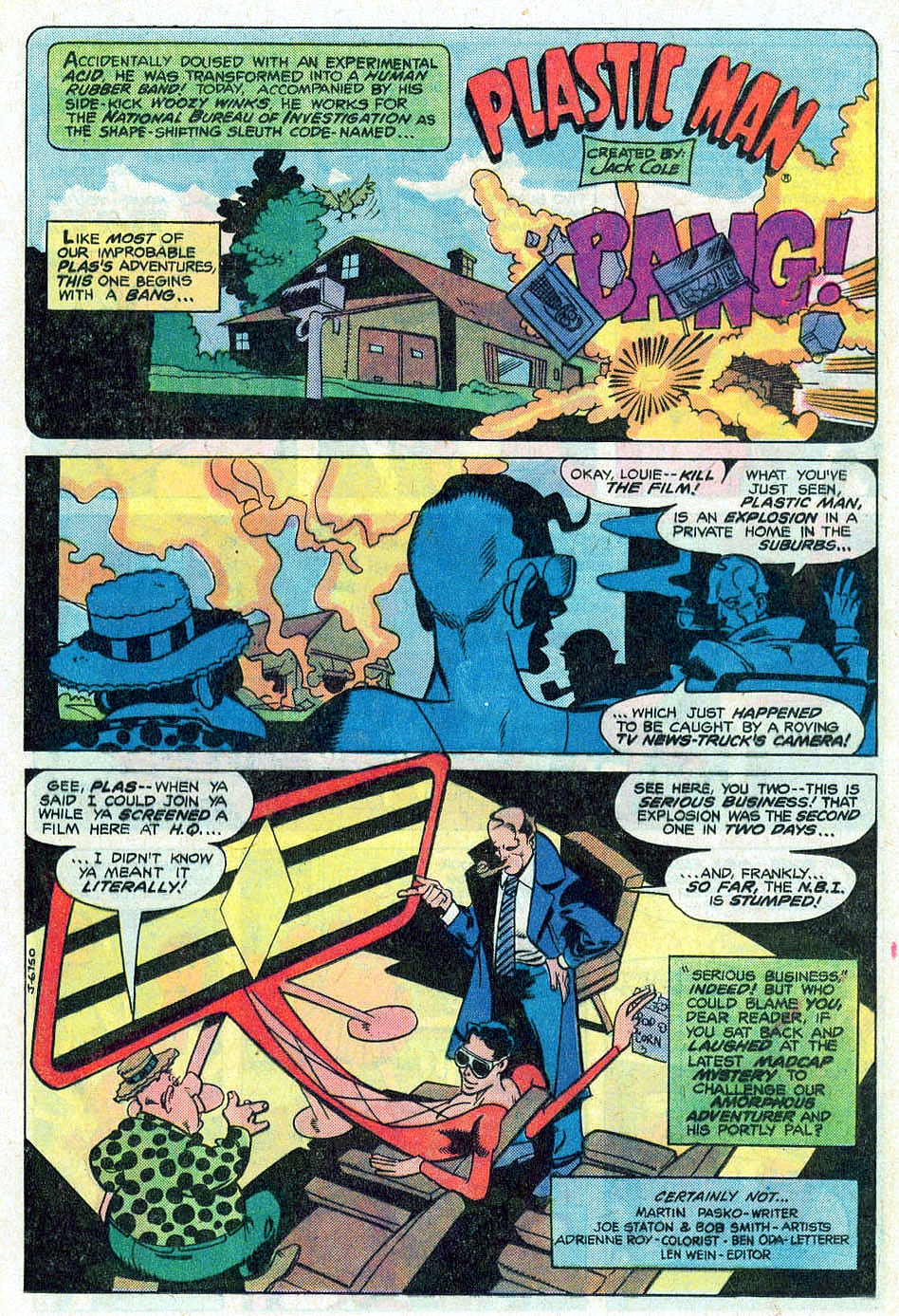 Read online Adventure Comics (1938) comic -  Issue #476 - 19