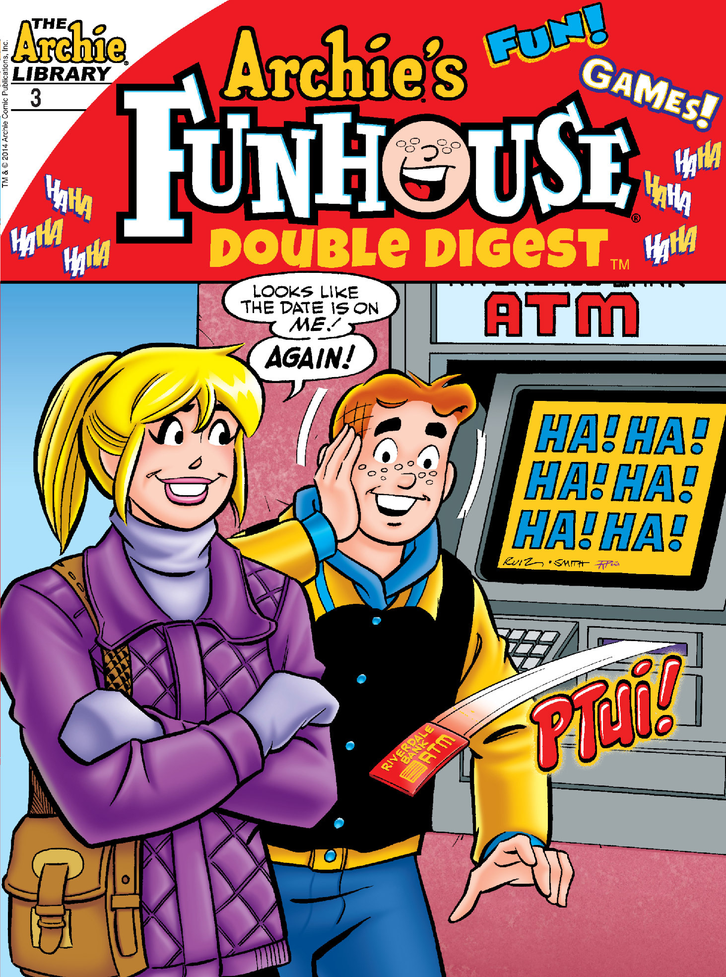 Read online Archie's Funhouse Double Digest comic -  Issue #3 - 1