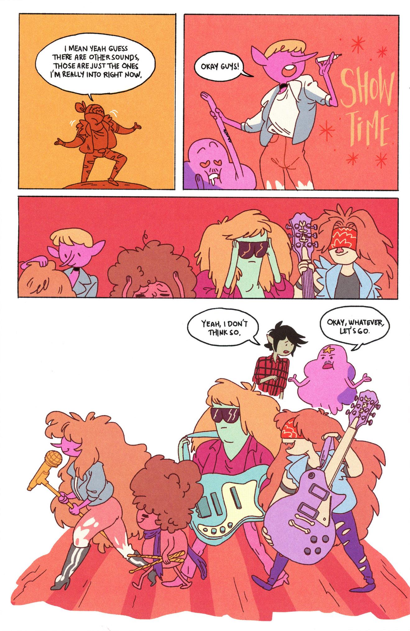 Read online Adventure Time Comics comic -  Issue #8 - 12