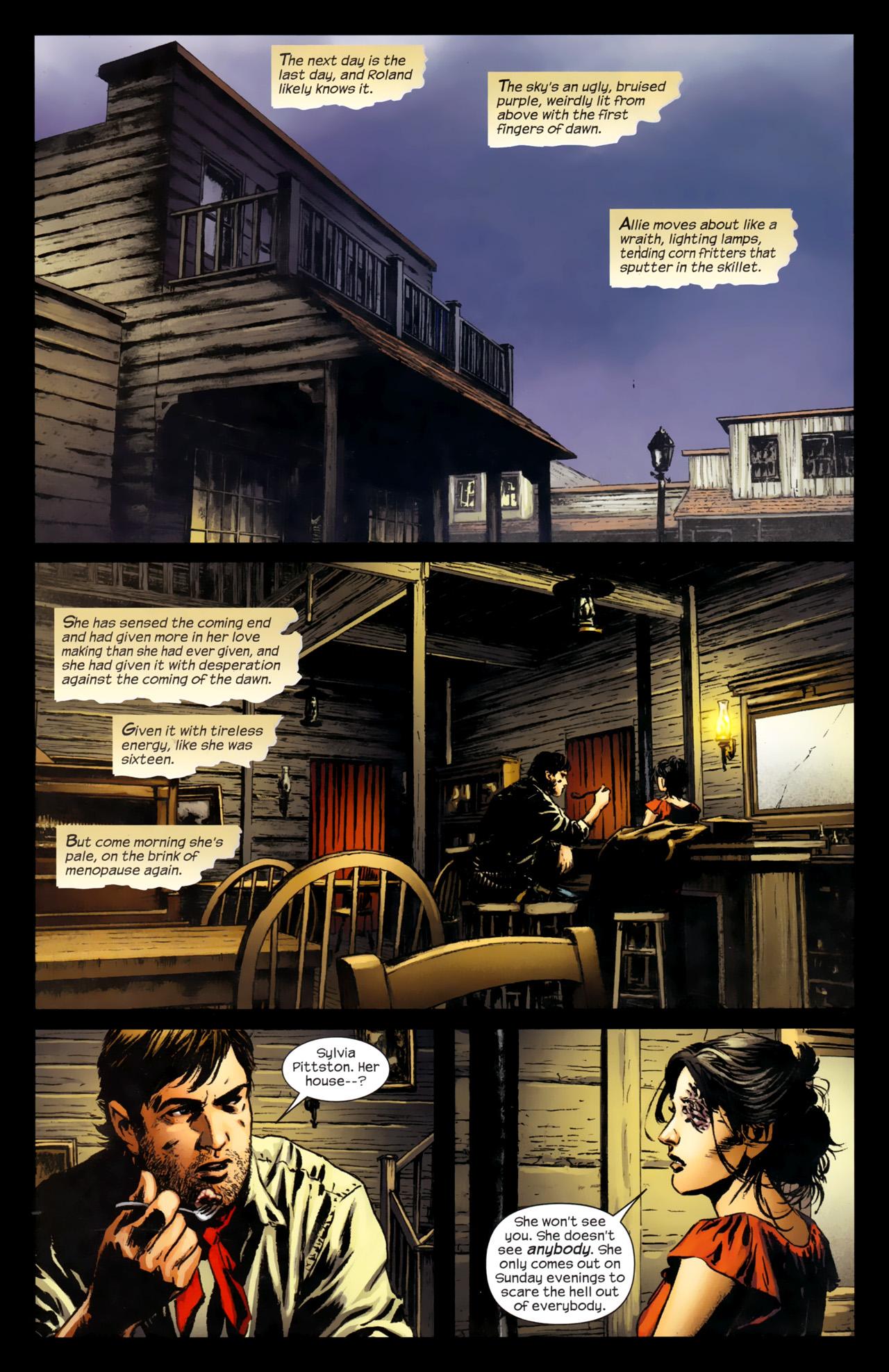 Read online Dark Tower: The Gunslinger - The Battle of Tull comic -  Issue #4 - 9