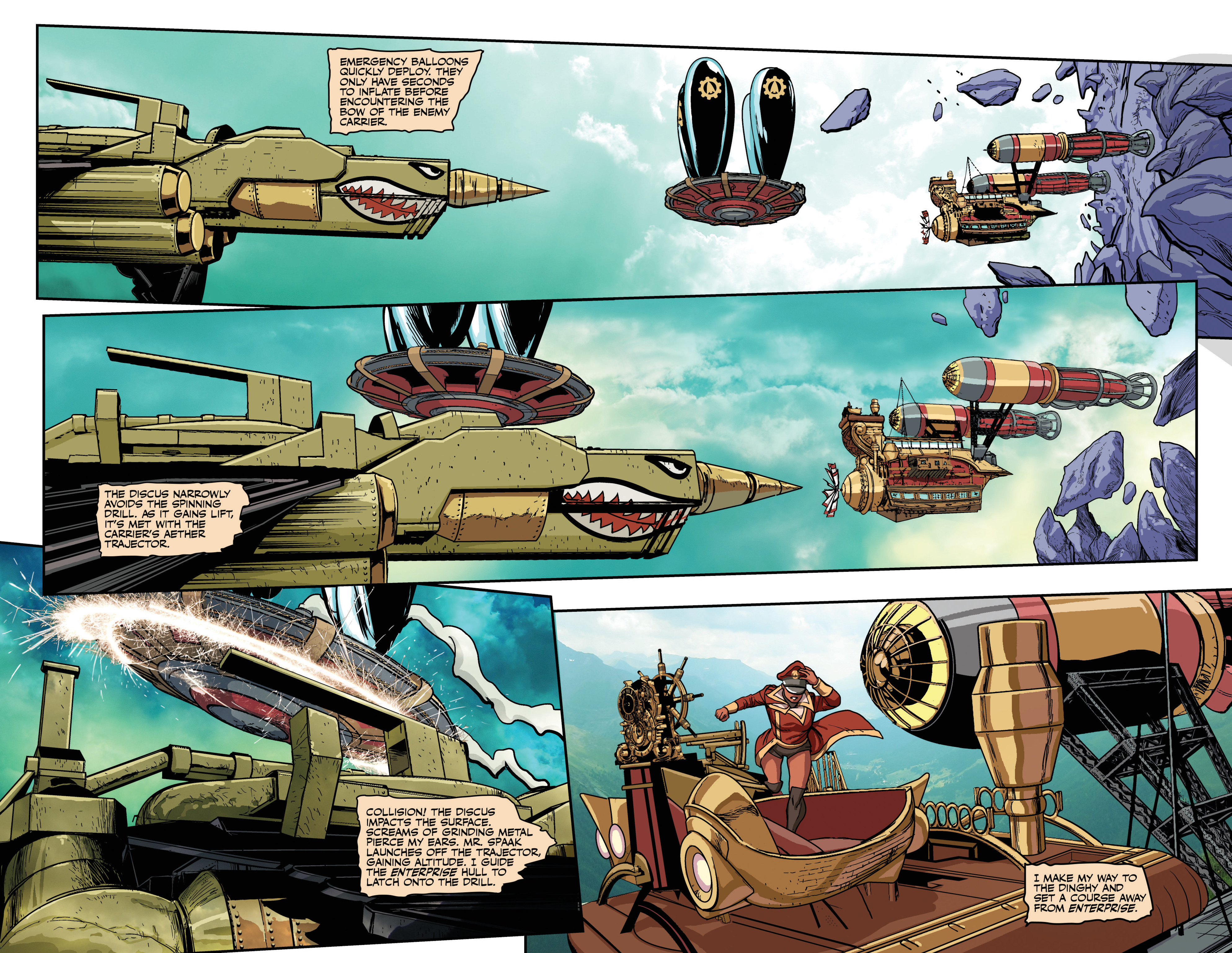 Read online Airship Enterprise: The Infernal Machine comic -  Issue #4 - 11