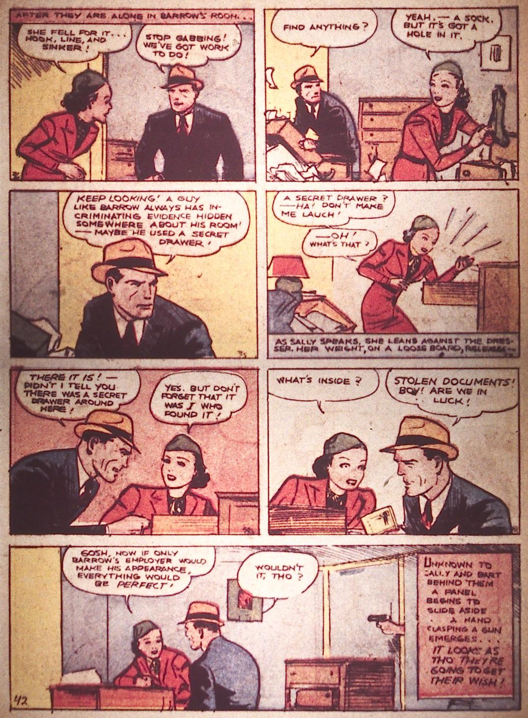Read online Detective Comics (1937) comic -  Issue #16 - 41