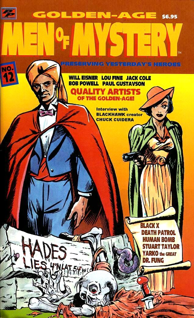 Read online Golden-Age Men of Mystery comic -  Issue #12 - 1