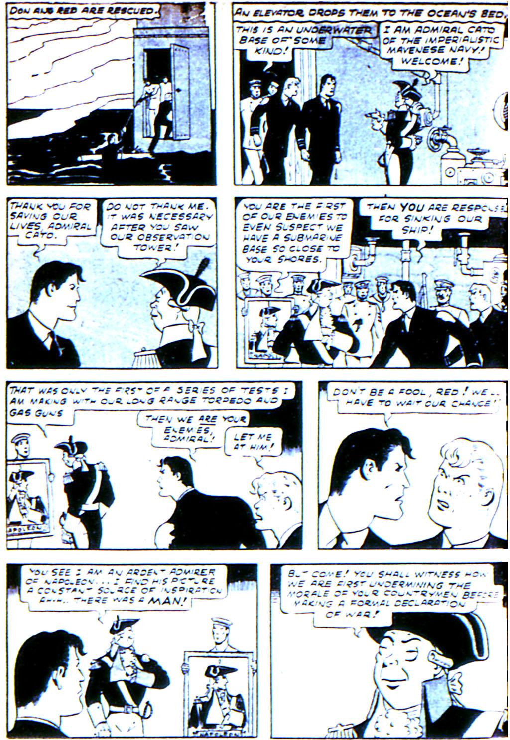 Read online Adventure Comics (1938) comic -  Issue #42 - 46