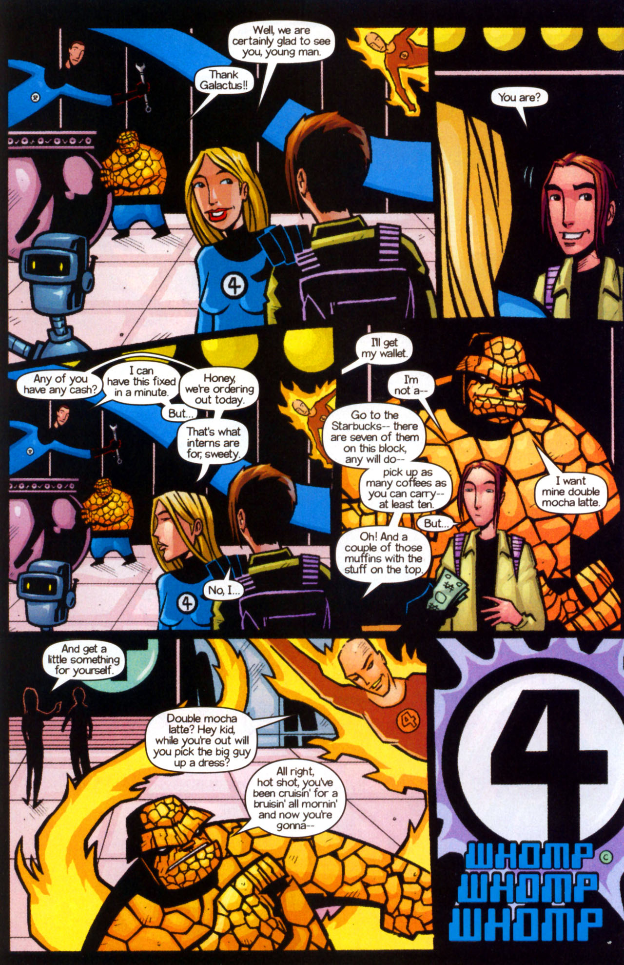 Read online Ultimate Marvel Team-Up comic -  Issue #9 - 12