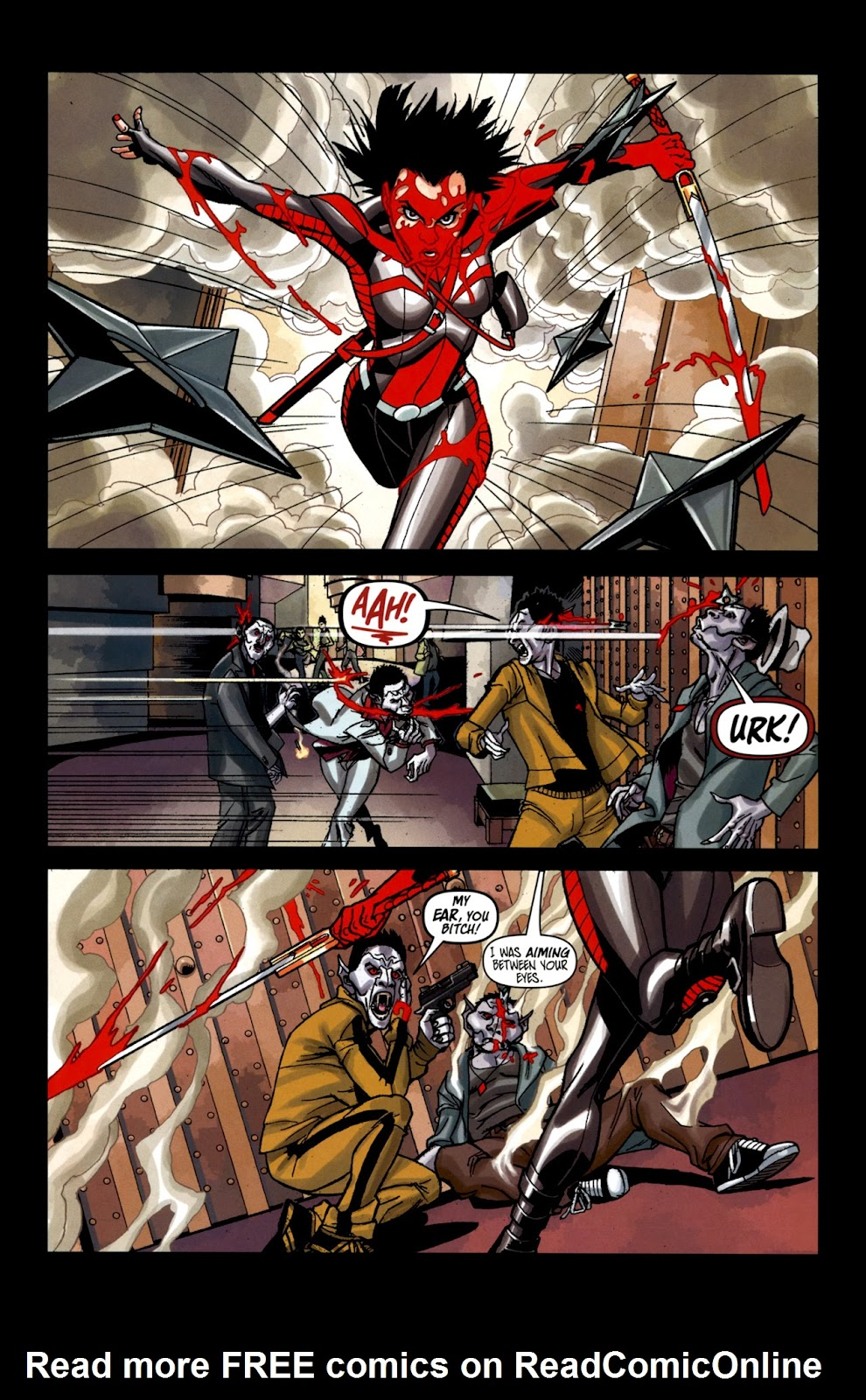 Read online Shinku comic -  Issue #2 - 15