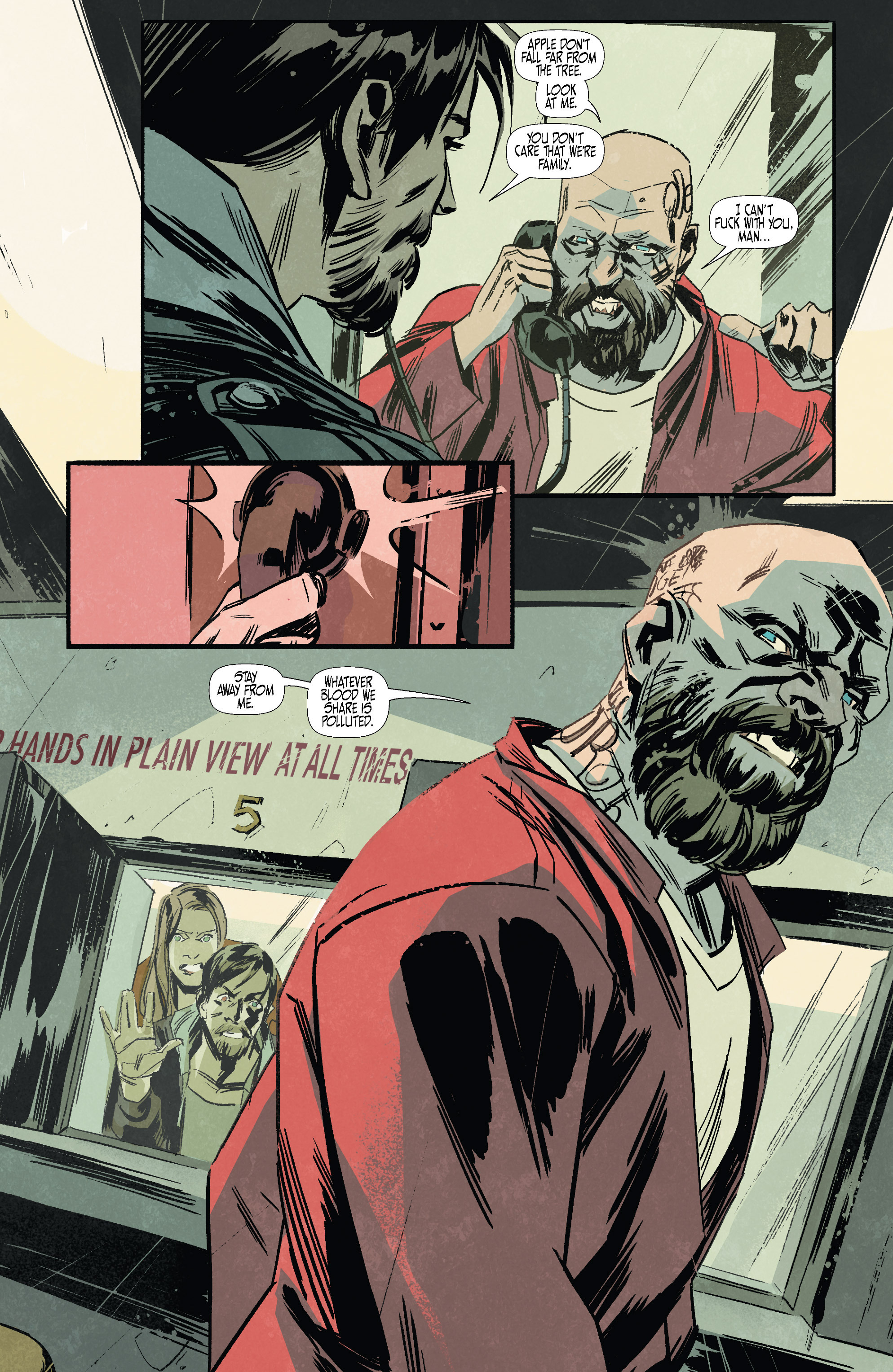 Read online Sons of the Devil comic -  Issue #7 - 11