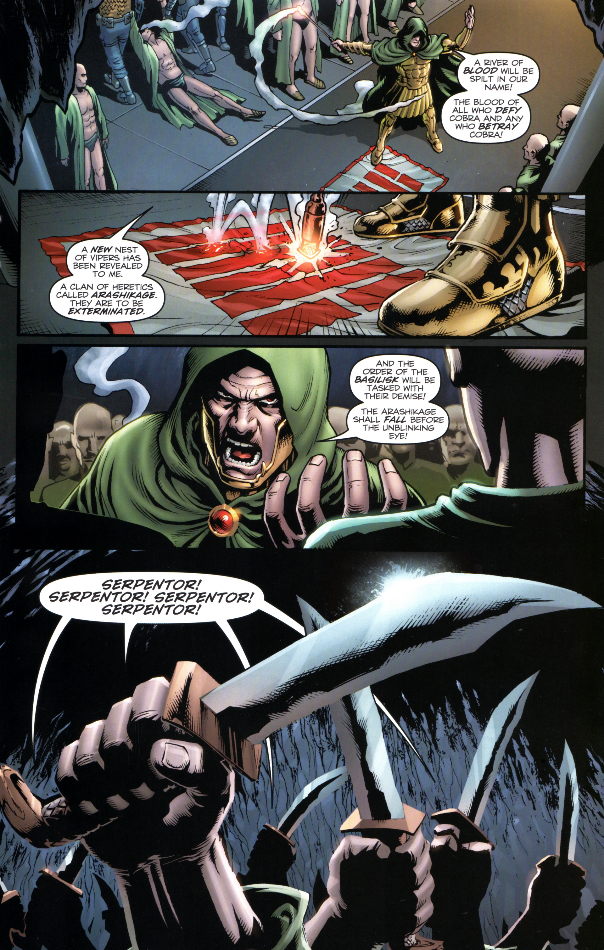 Read online Snake Eyes and Storm Shadow comic -  Issue #17 - 5