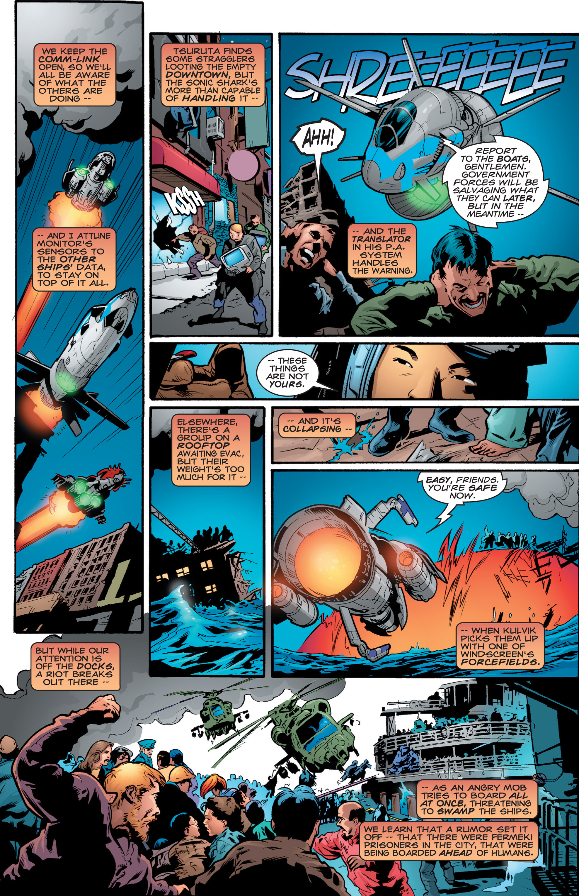 Read online Shockrockets comic -  Issue # TPB - 47