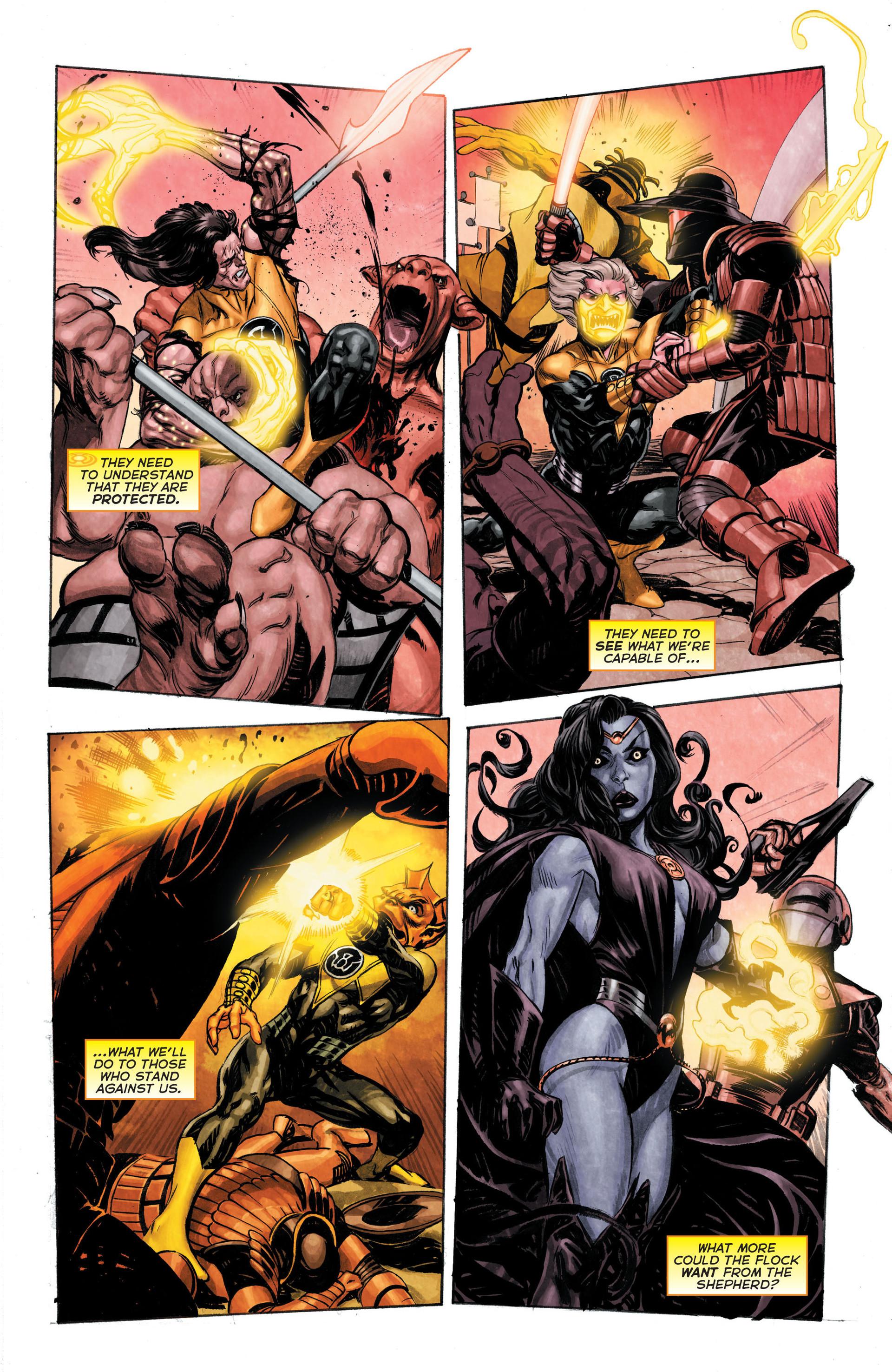 Read online Sinestro comic -  Issue #3 - 18