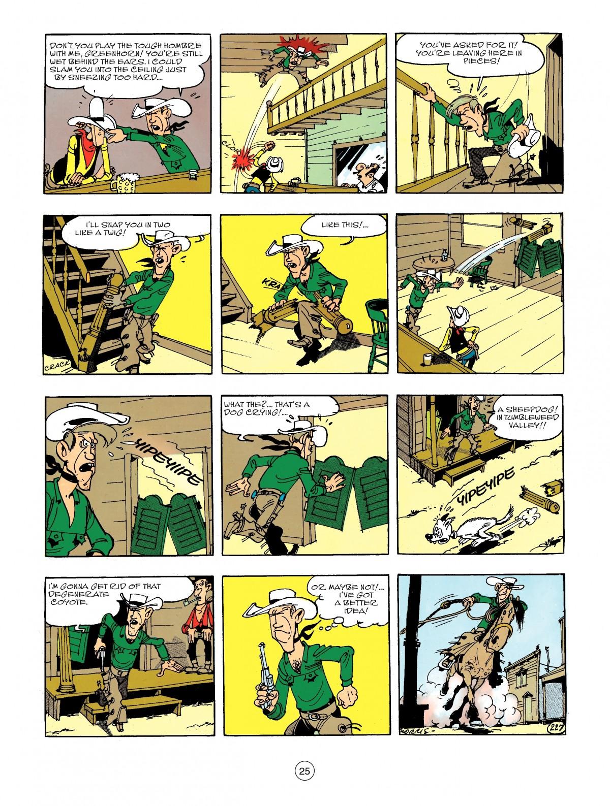 Read online A Lucky Luke Adventure comic -  Issue #44 - 25