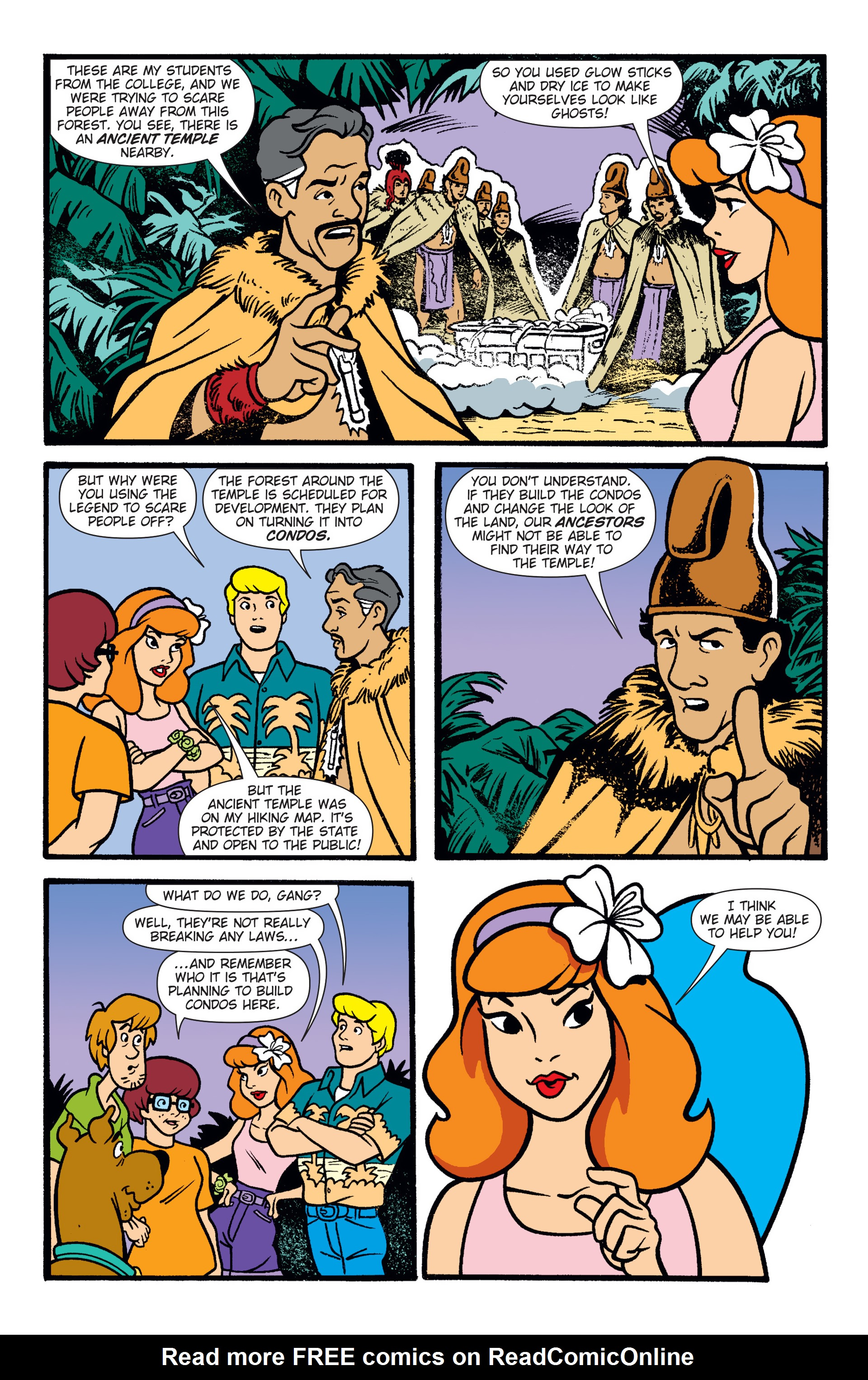 Read online Scooby-Doo: Where Are You? comic -  Issue #47 - 22