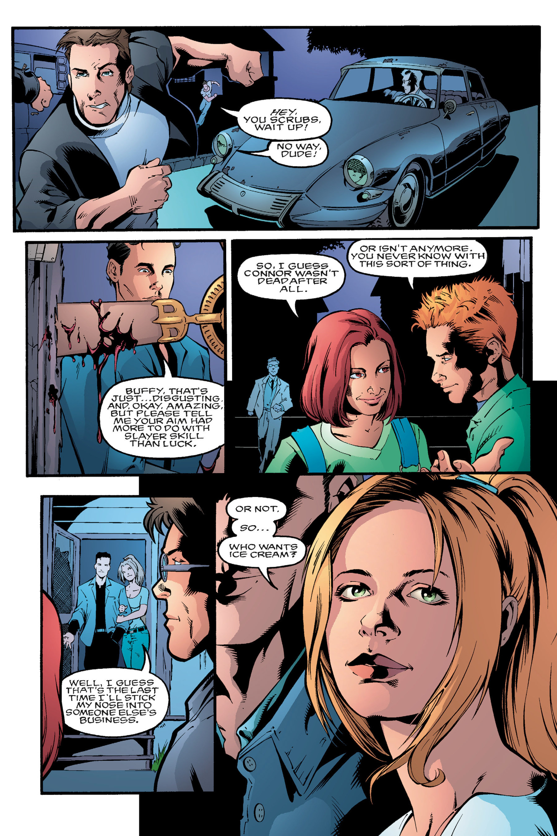 Read online Buffy the Vampire Slayer: Omnibus comic -  Issue # TPB 3 - 196