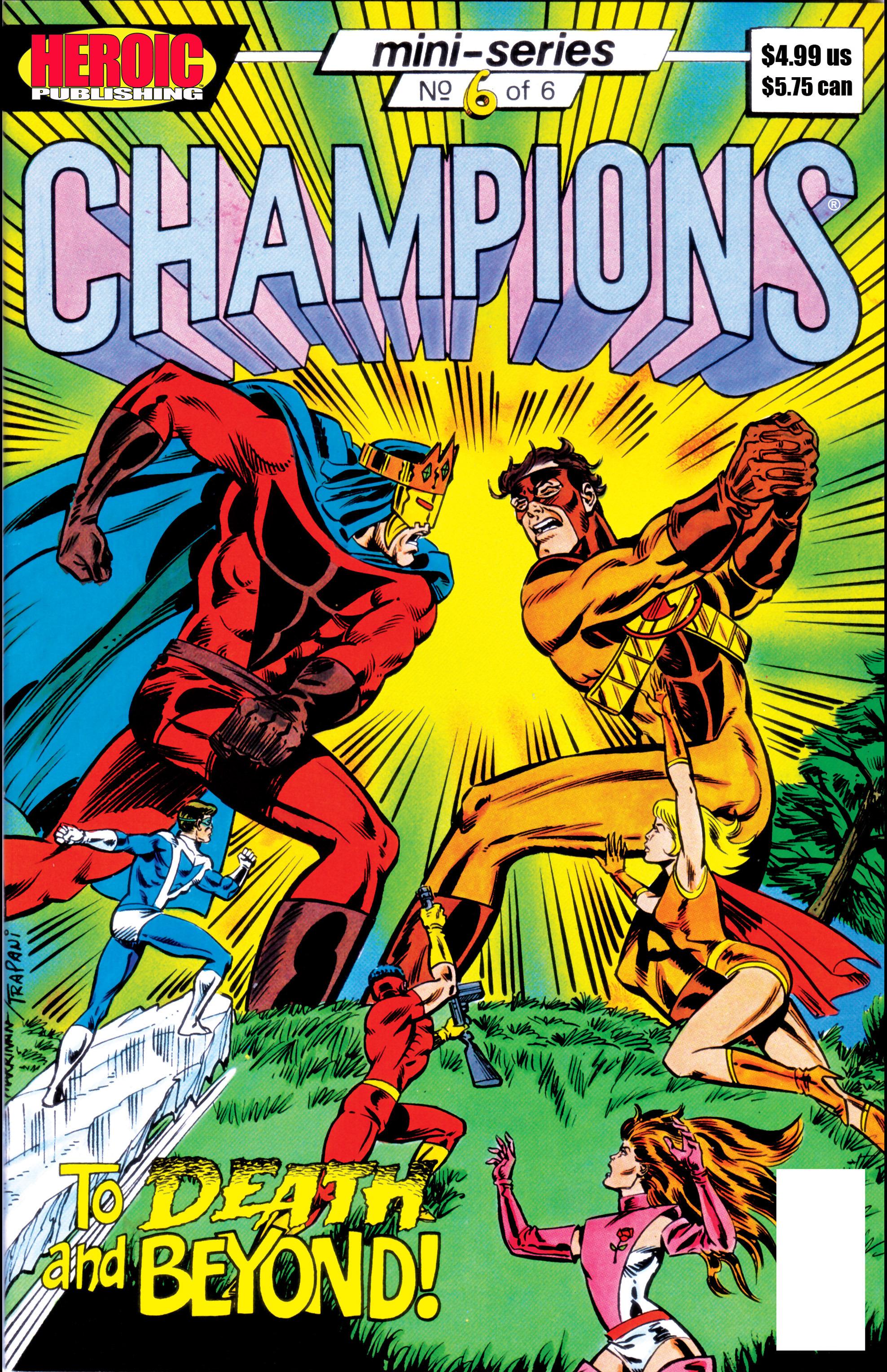 Champions (1986) 6 Page 1