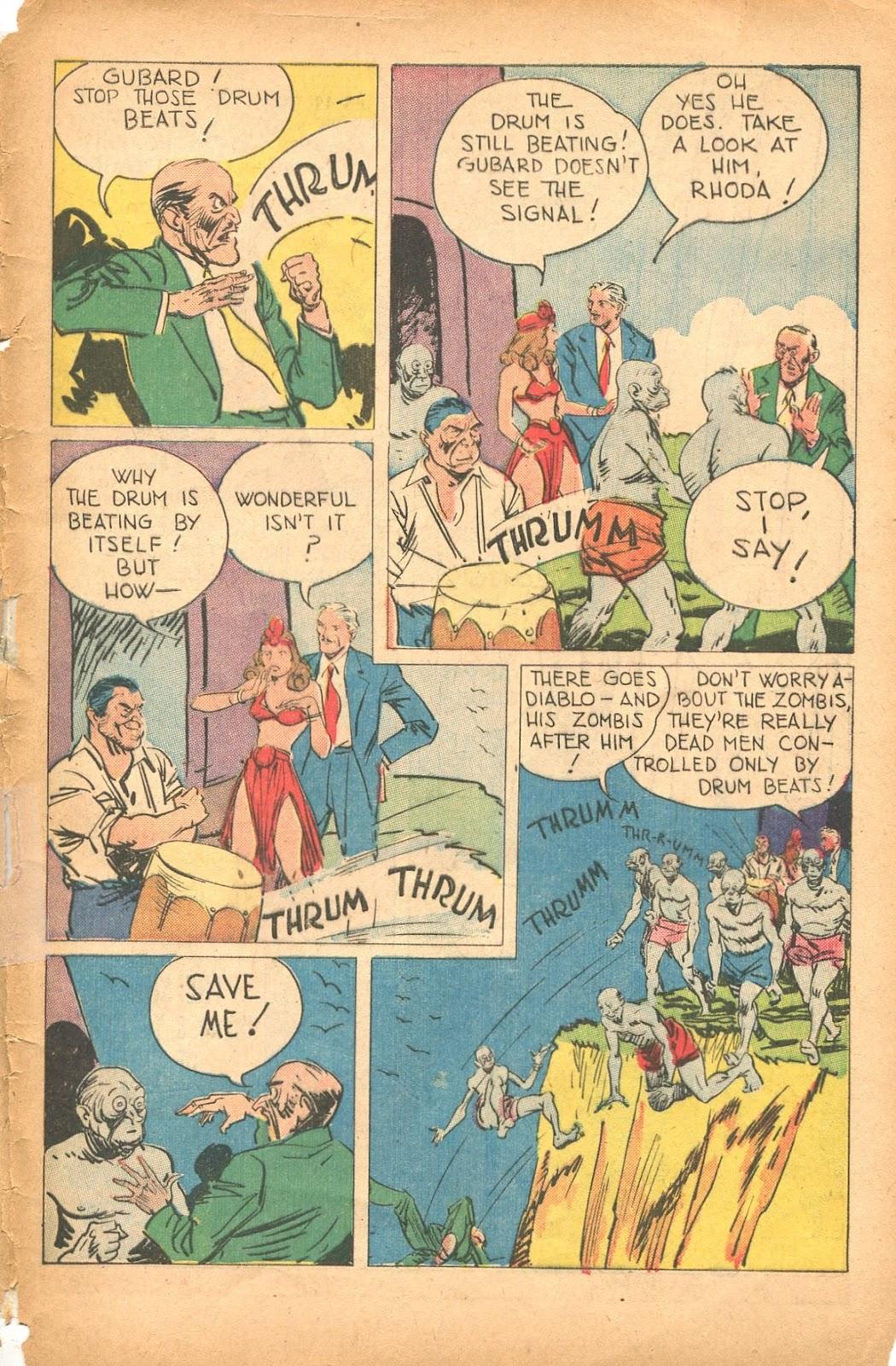 Read online Super-Magician Comics comic -  Issue #35 - 49