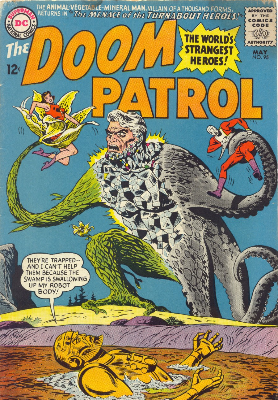 Doom Patrol (1964) issue 95 - Page 1