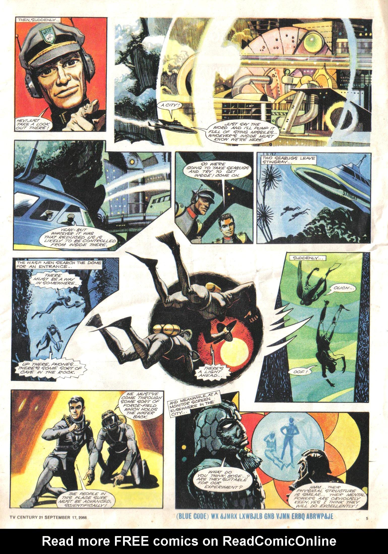Read online TV Century 21 (TV 21) comic -  Issue #87 - 5