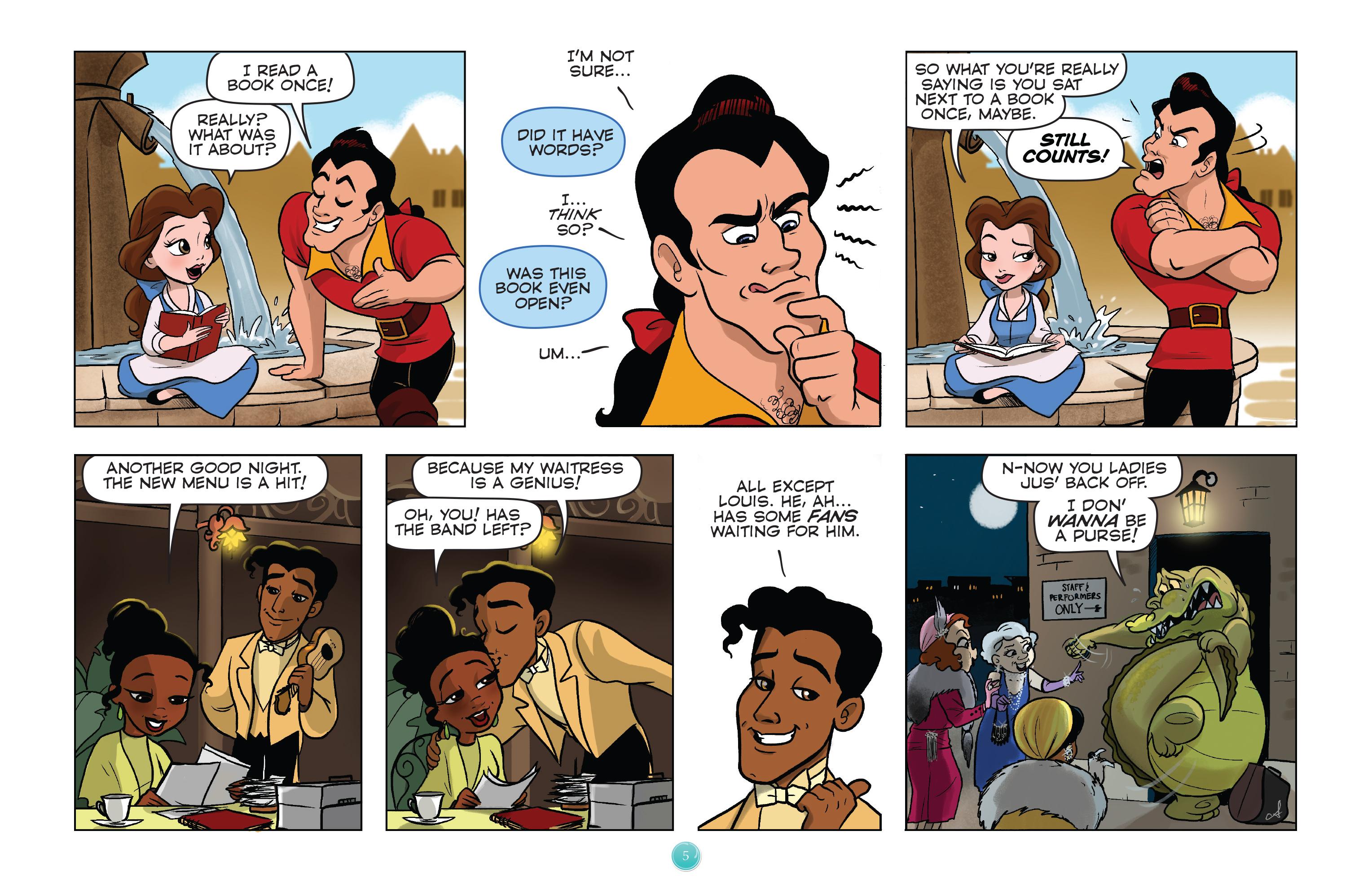 Read online Disney Princess comic -  Issue #1 - 8