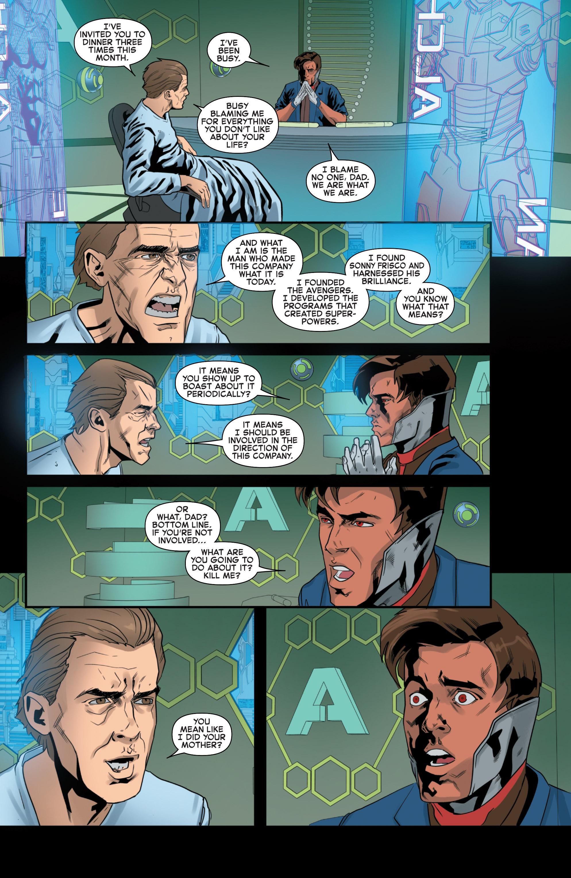 Read online Secret Wars 2099 comic -  Issue #4 - 11