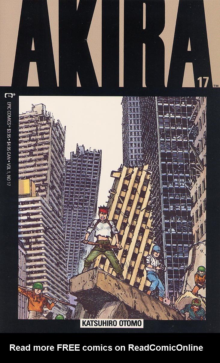 Read online Akira comic -  Issue #17 - 1