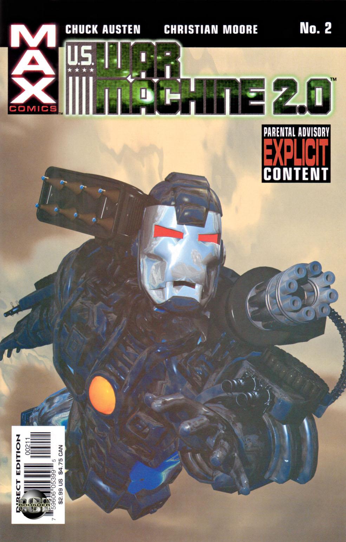Read online U.S. War Machine 2.0 comic -  Issue #2 - 1