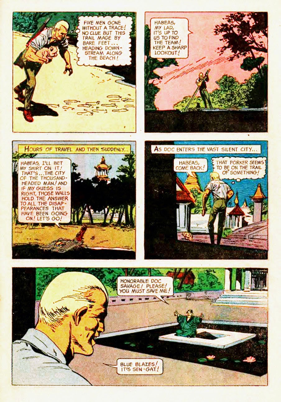 Read online Doc Savage (1966) comic -  Issue # Full - 27