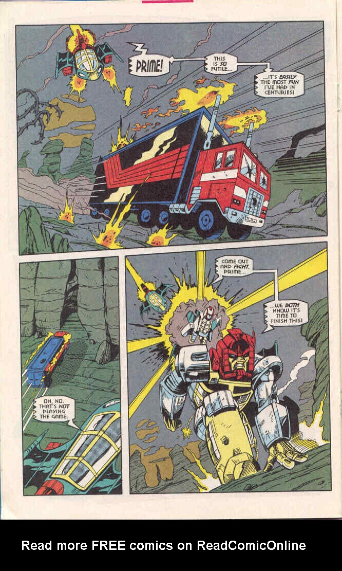 Read online Transformers: Generation 2 comic -  Issue #3 - 12