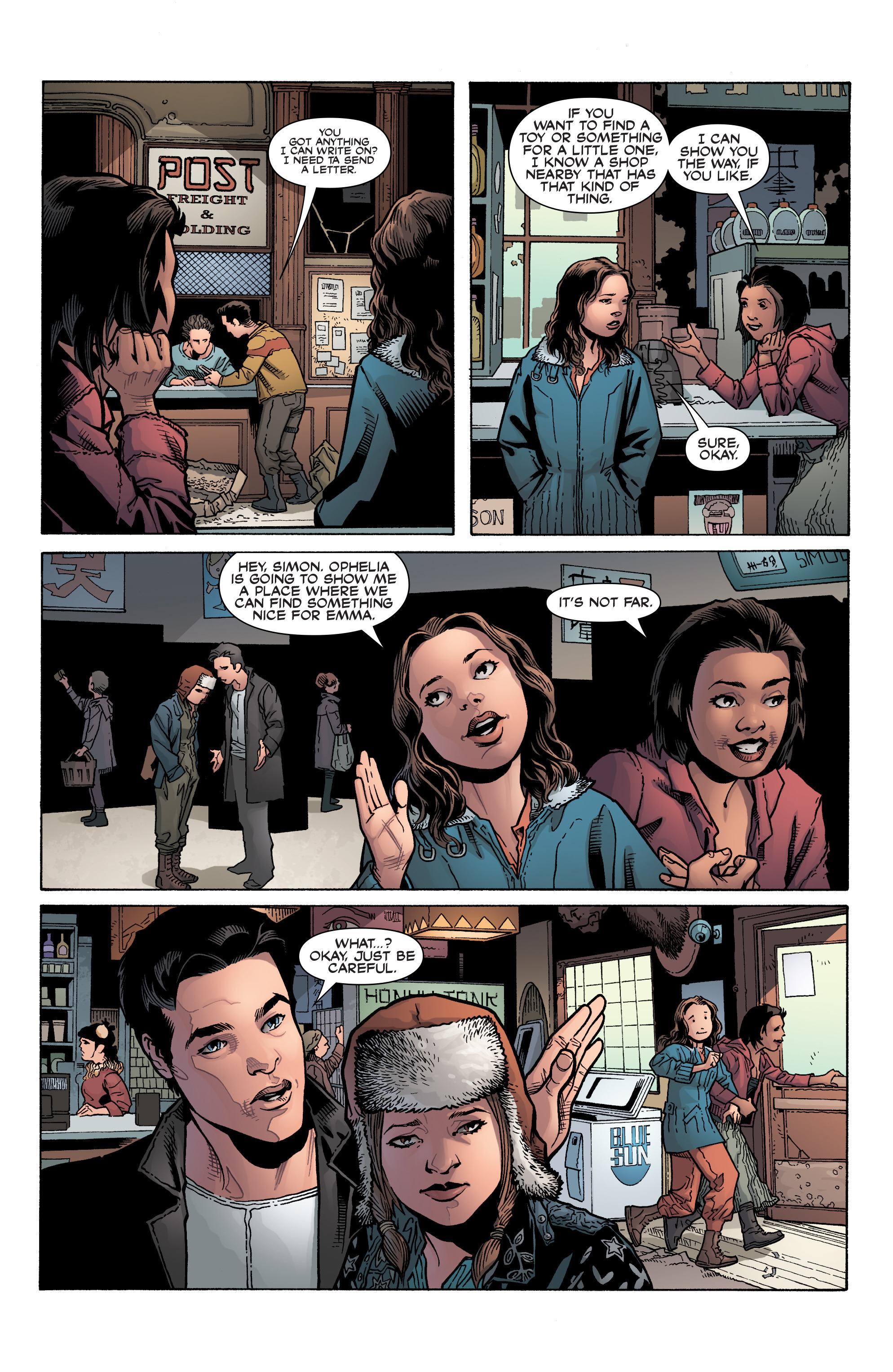 Read online Serenity: Firefly Class 03-K64 – No Power in the 'Verse comic -  Issue #2 - 18