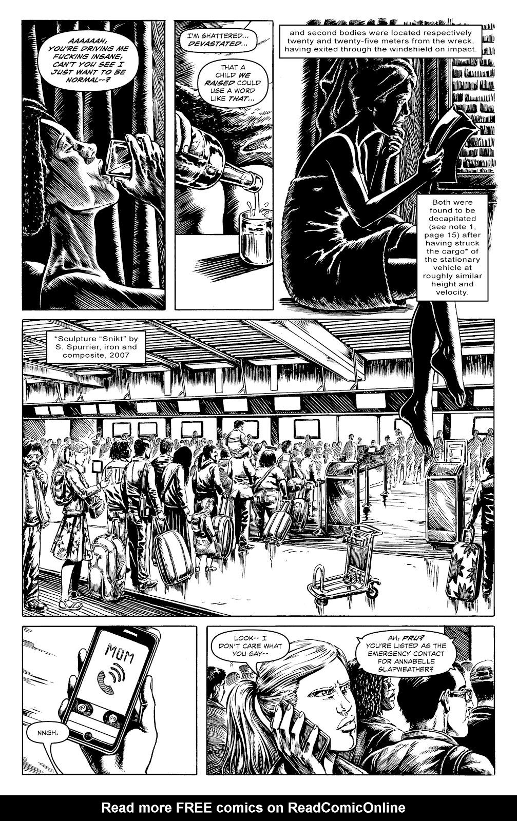 Read online Alan Moore's Cinema Purgatorio comic -  Issue #17 - 16