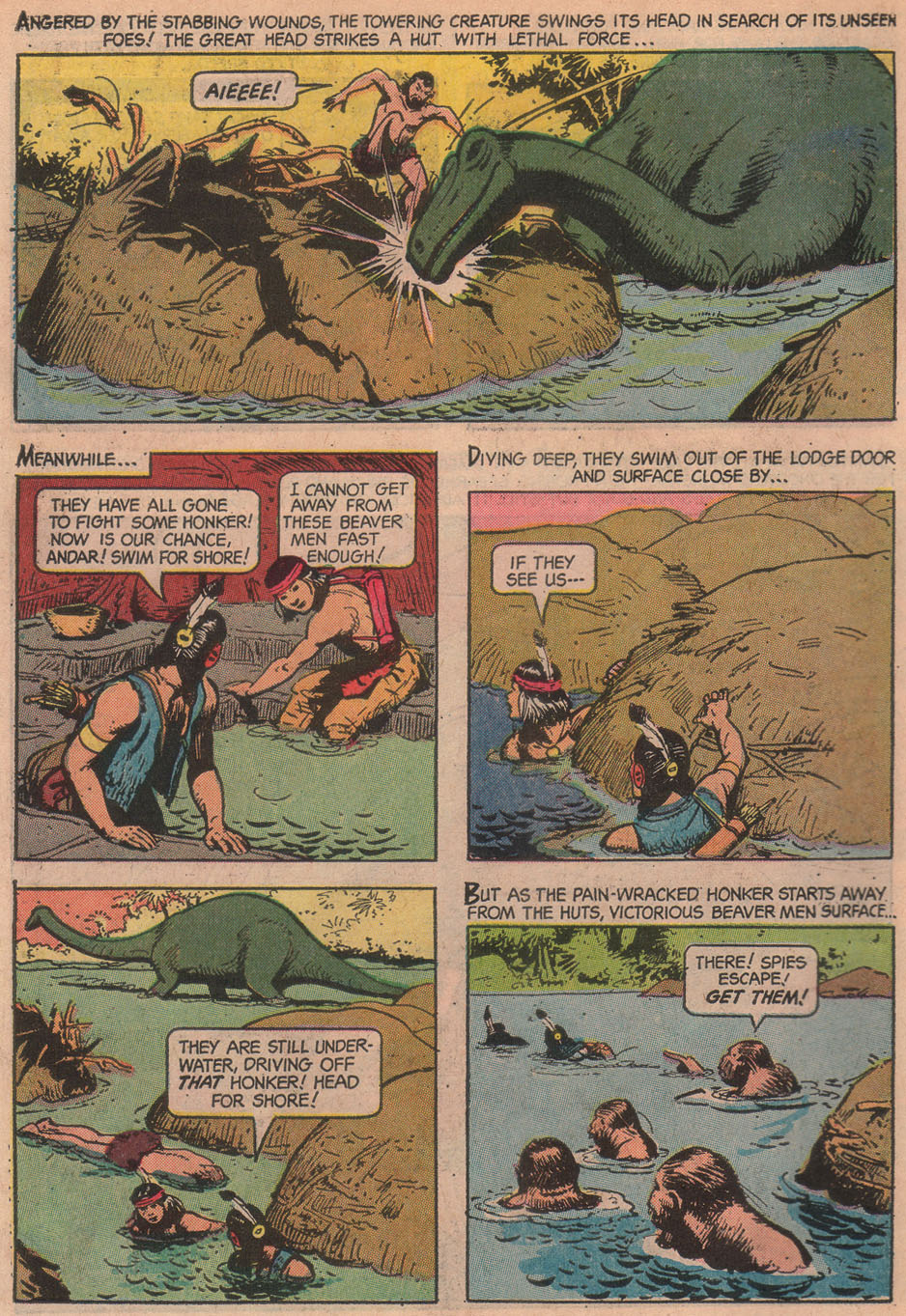 Read online Turok, Son of Stone comic -  Issue #51 - 10