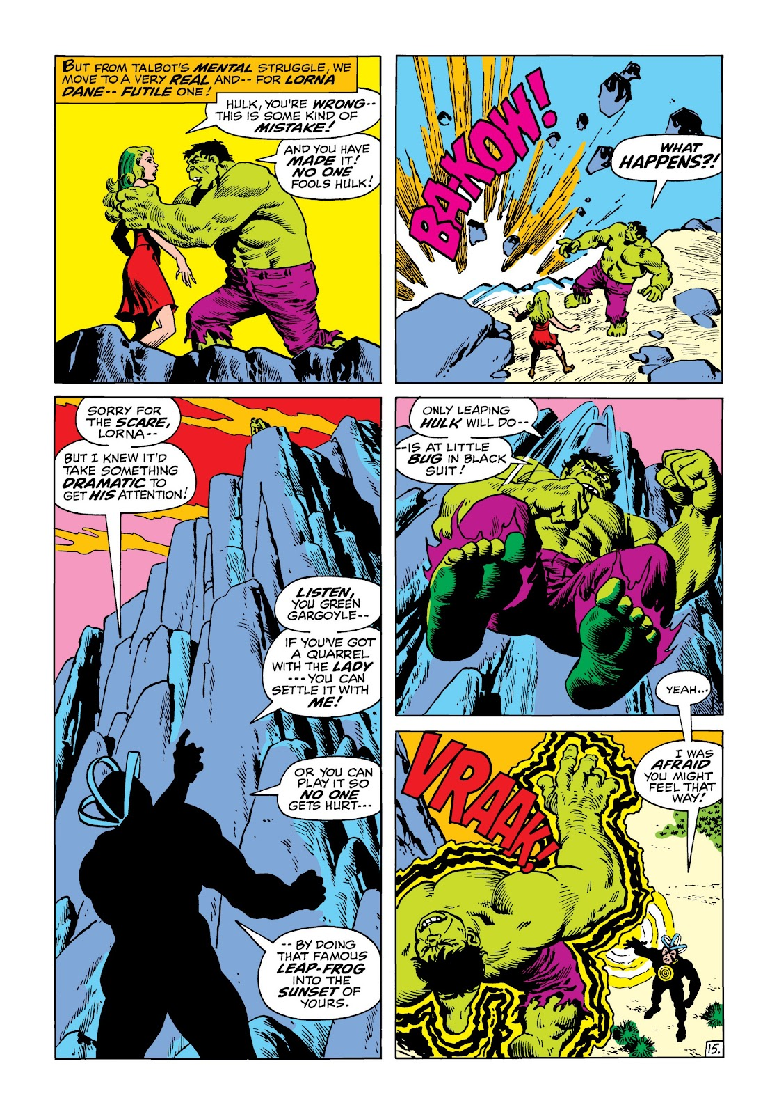 Read online Marvel Masterworks: The Incredible Hulk comic -  Issue # TPB 8 (Part 2) - 45