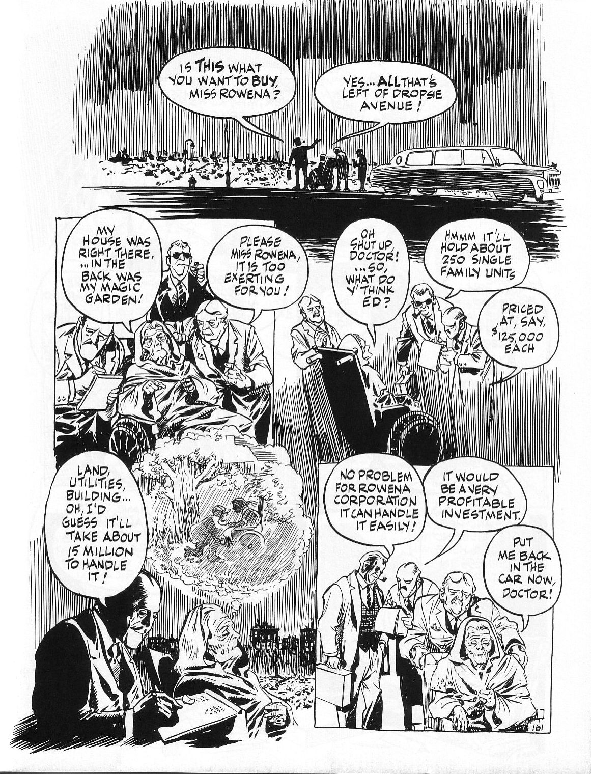 Read online Dropsie Avenue, The Neighborhood comic -  Issue # Full - 163