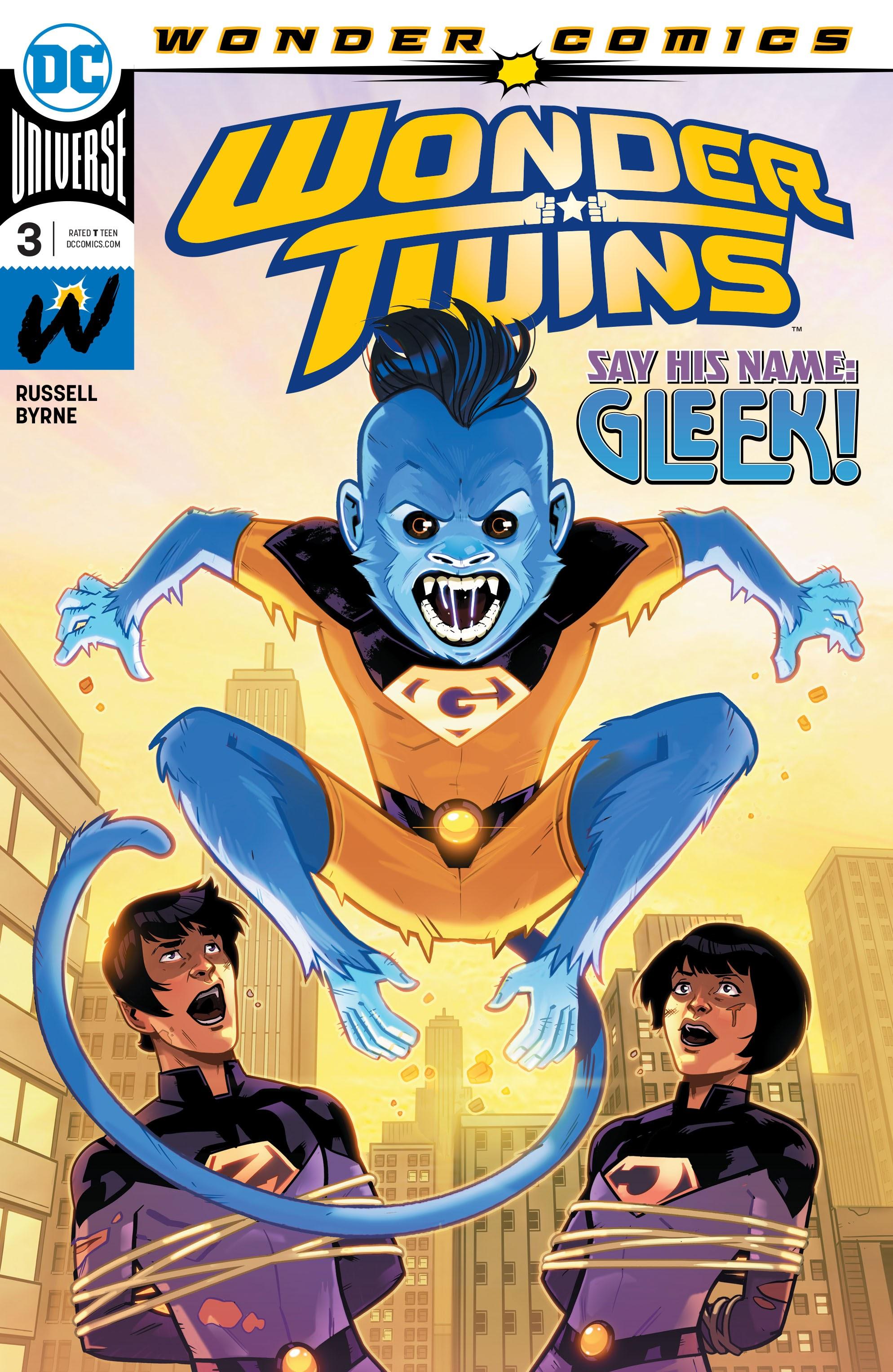 Wonder Twins 3 Page 1