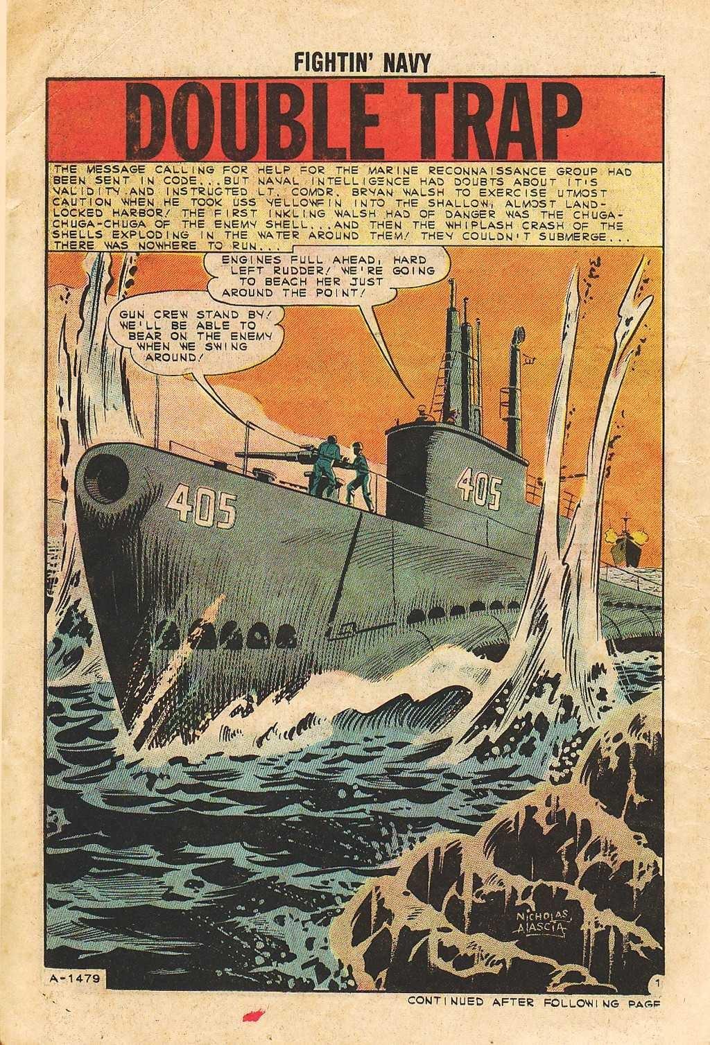 Read online Fightin' Navy comic -  Issue #105 - 14