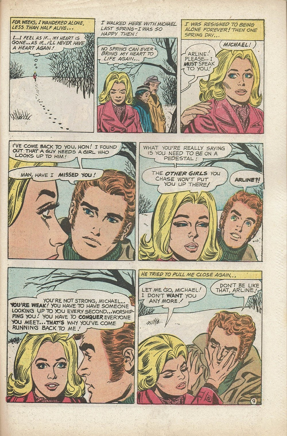 Read online Secret Hearts comic -  Issue #153 - 31