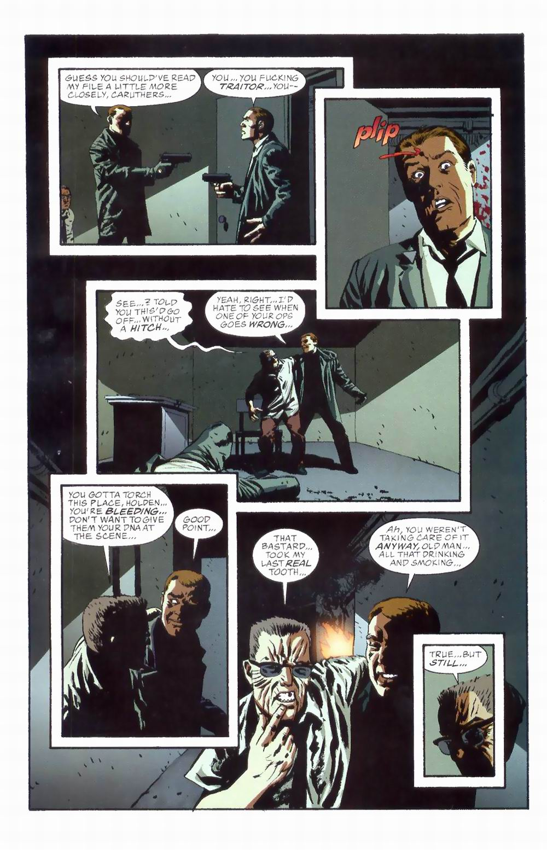 Read online Sleeper comic -  Issue #8 - 20