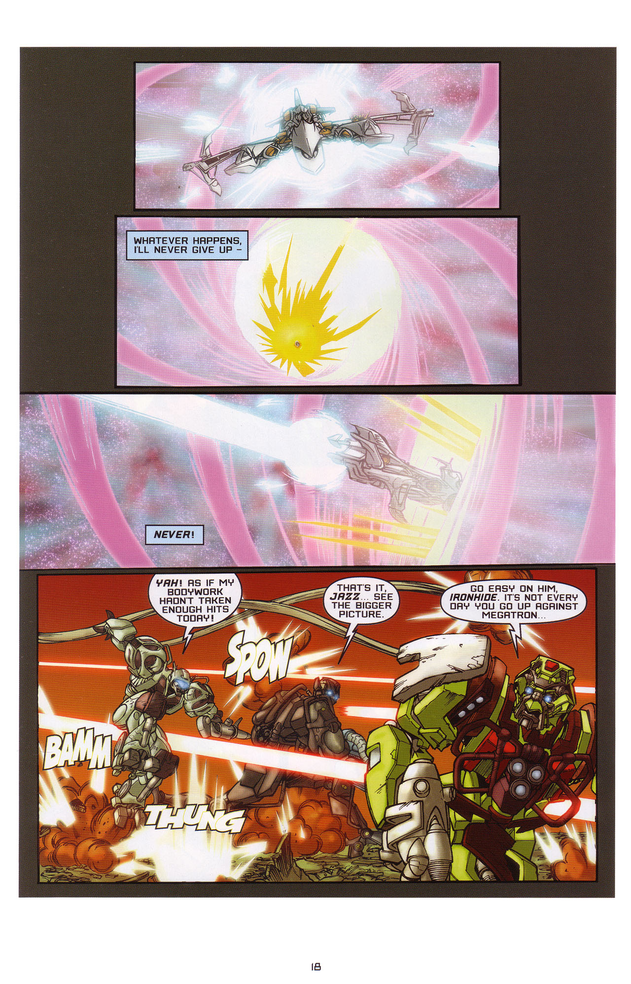 Read online Transformers: Saga of the Allspark comic -  Issue #1 - 19