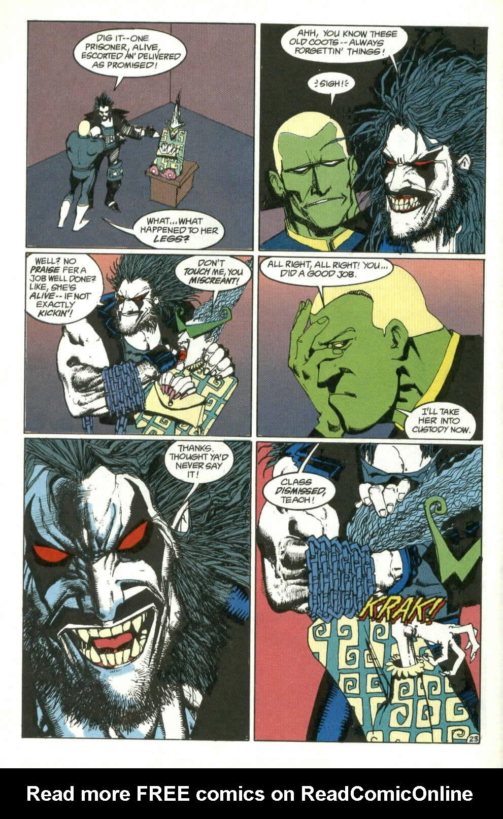 Read online Lobo (1990) comic -  Issue #4 - 23
