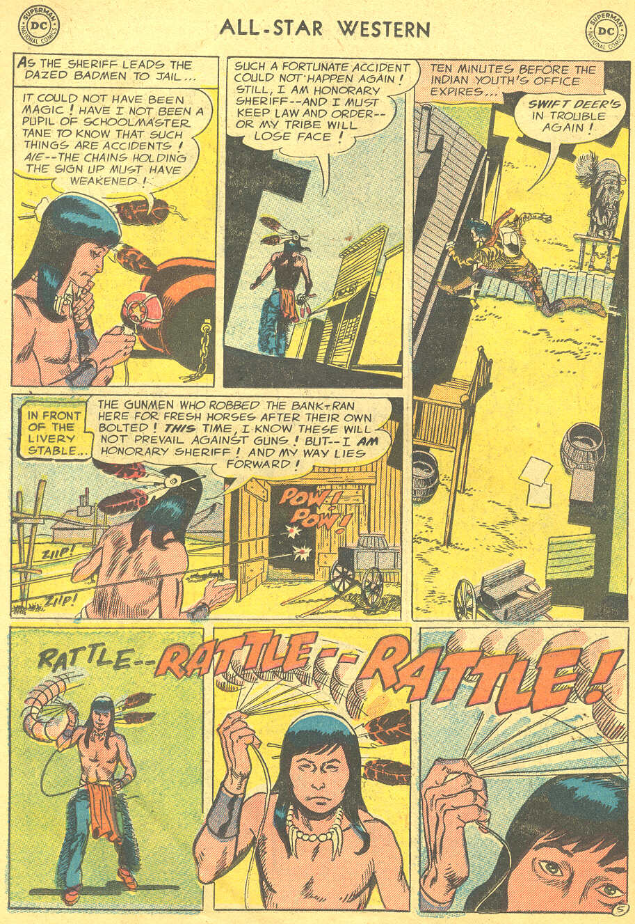 Read online All-Star Western (1951) comic -  Issue #88 - 14