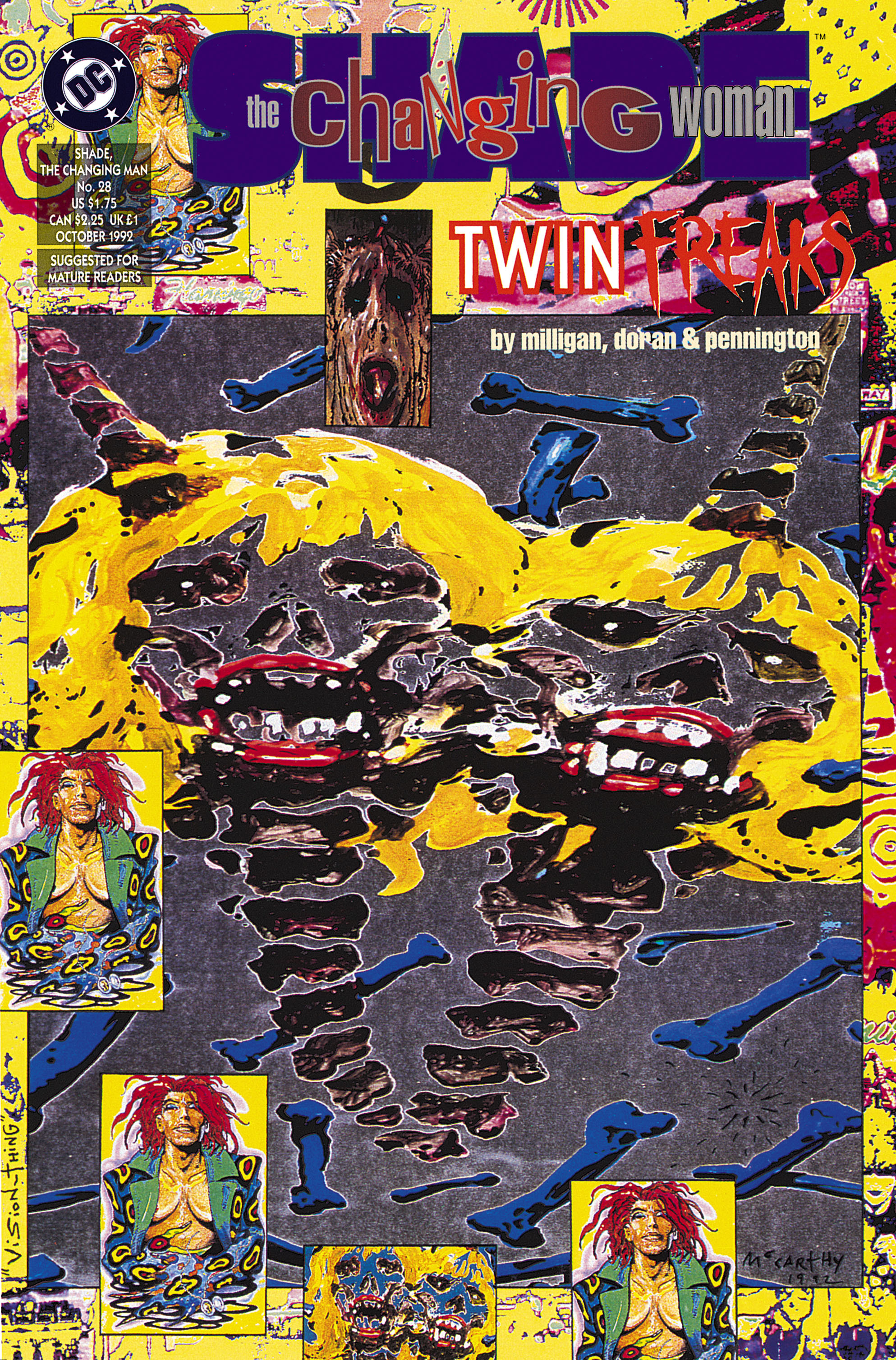Shade, the Changing Man (1990) issue 28 - Page 1