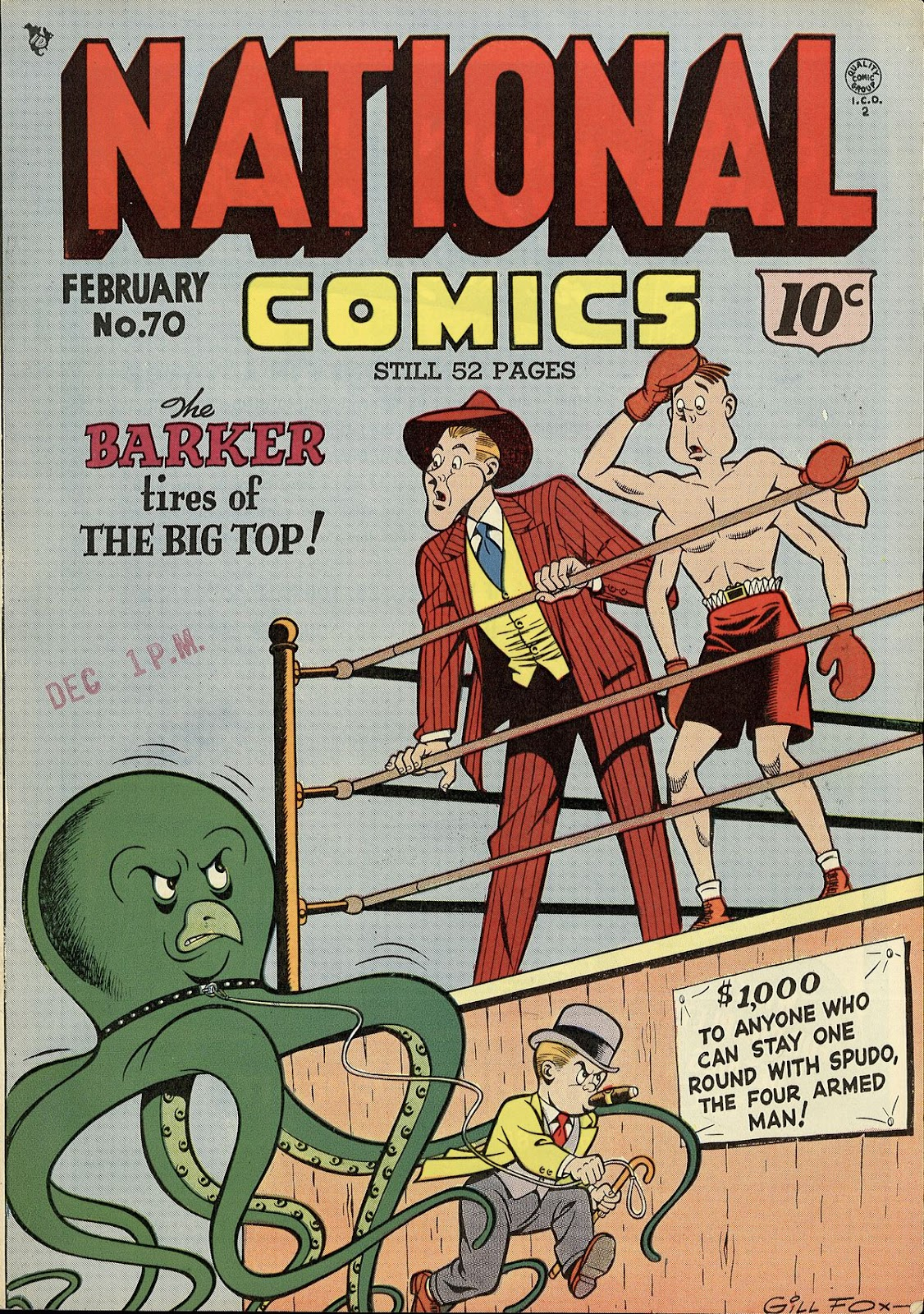 National Comics (1940) issue 70 - Page 1