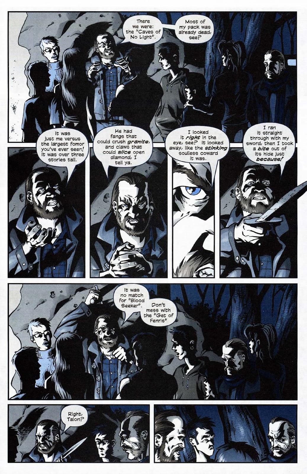 Read online Werewolf the Apocalypse comic -  Issue # Get of Fenris - 23
