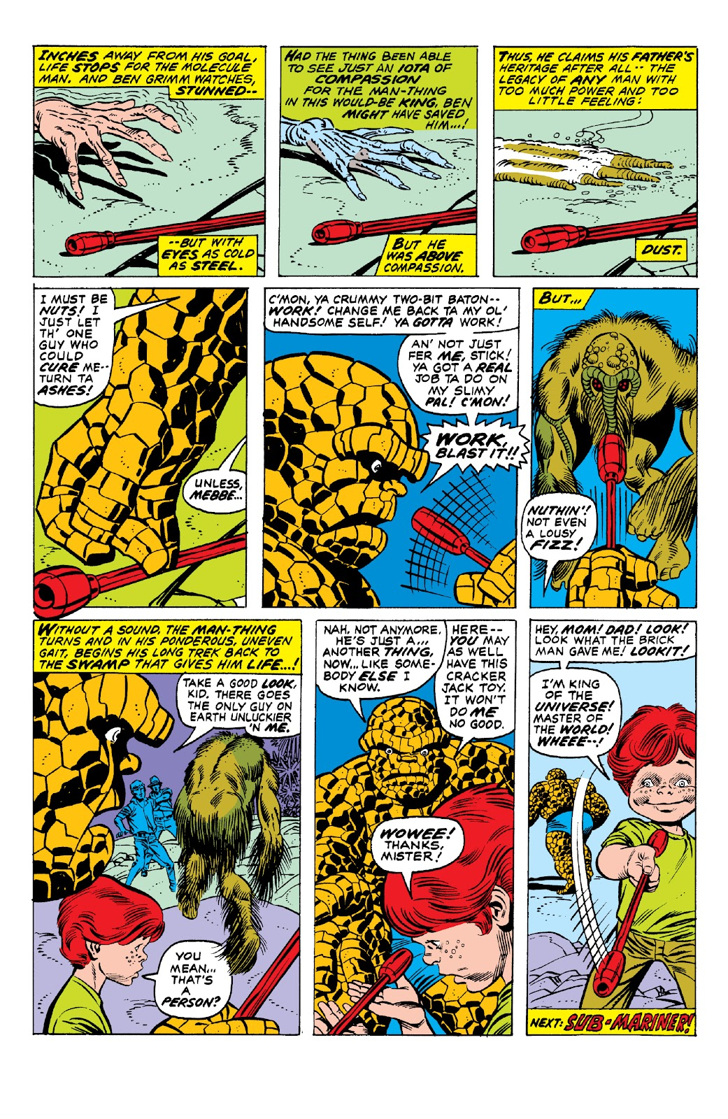 Read online Marvel Two-In-One Epic Collection: Cry Monster comic -  Issue # TPB (Part 1) - 64