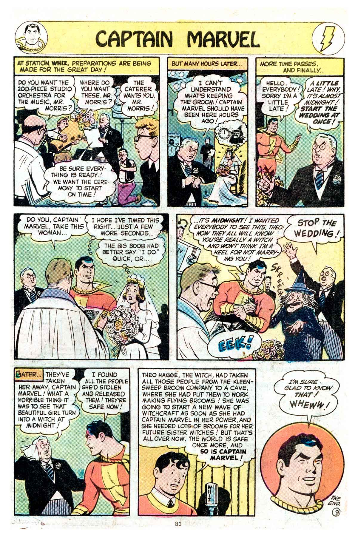 Read online Shazam! (1973) comic -  Issue #17 - 83