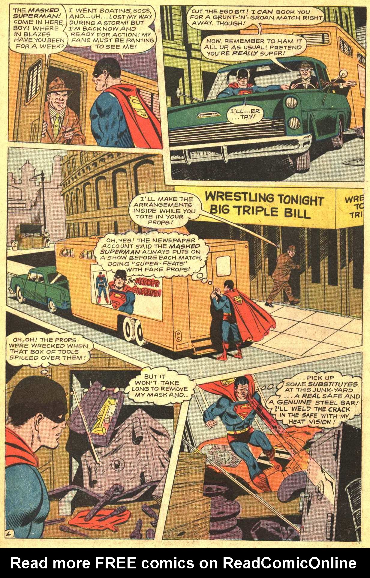 Read online Action Comics (1938) comic -  Issue #372 - 6